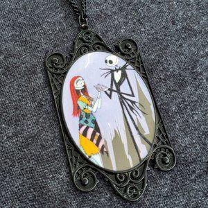 Jack & Sally Cameo Necklace